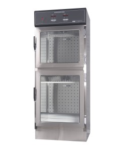 Dual Compartment Hospital Solution or Blanket Warmer from Continental Metal Products Model #DSW2AE