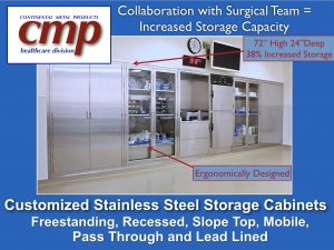 Stainless Steel Operating Room Surgical Storage Console