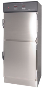 "Dual Compartment Solution or Blanket Warmer from Continental Metal Products Model #DSC-5, 60"" High"