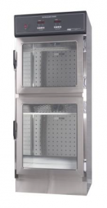 clear thermopane door option on CMP warming cabinet