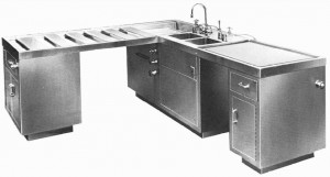 Autopsy Dissecting Table from Continental Metal Products