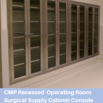 CMP Recessed Operating Room Surgical Supply Cabinet Console copy