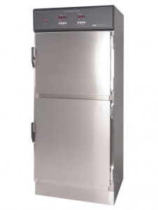 CMP Dual Compartment Warming Cabinet (DSC5 or DSW2AE Series) shown with Stainless steel doors