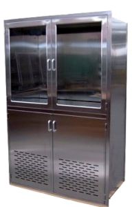 Vented Stainless Steel OR Integration Cabinet