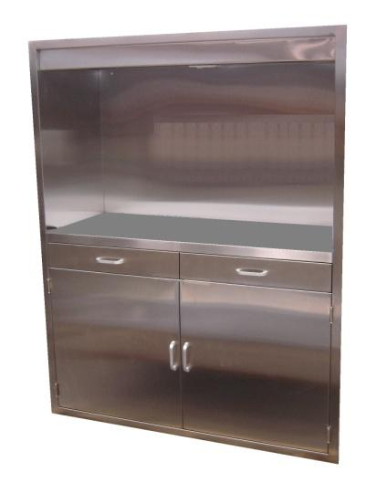 Stainless Steel Operating Storage Room Cabinets