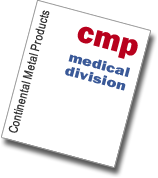 Continental Metal Products Medical Division Catalog