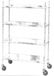 Modular Stainless Steel Storage Shelving Continental Metal Products