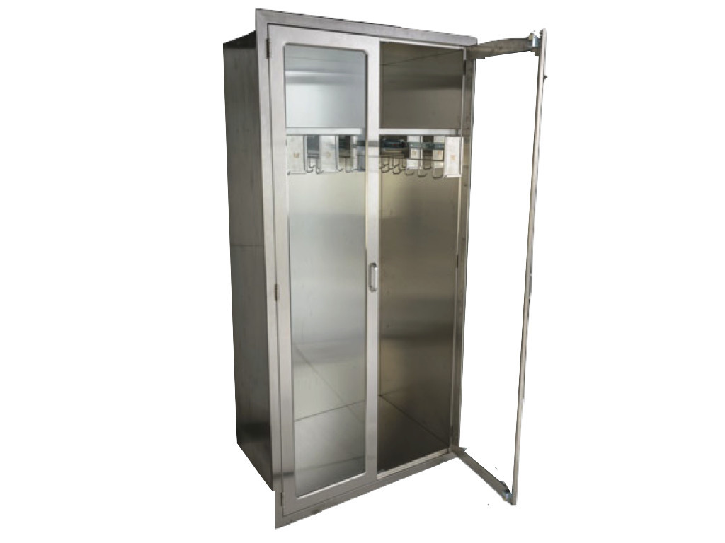 Stainless Steel Catheter Storage Cabinet From CMP Stores Catheters Of  Various Sizes, ...