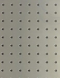 Stainless Steel Hospital Instrument Pegboard for OR and SPD