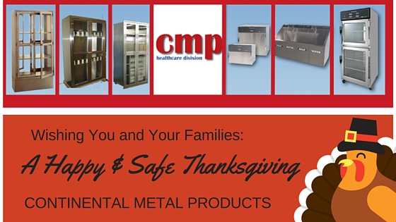 Continental Metal Products Thanksgiving wishes with Stainless Steel Medical Equipment