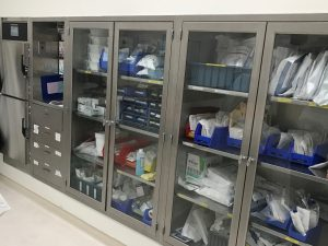 Stainless Steel Hospital Operating room cabinets -  better alternative than aluminum and other materials Continental Metal Products