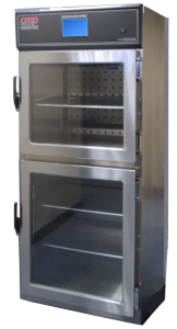 "Dual Compartment Solution or Blanket Warmer from Continental Metal Products Model #DSC-5, 60"" High for Operating Room Consoles"