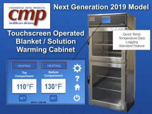 New Blanket Warmer with Touchscreen for hospital , warming cabinet easy to use controls panel 2018 Continental Metal Products