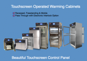 Many sizes of Hospital Warming Cabinets & Blanket Warmers including 2-compartment, full size single chamber, counter top, mid-size, pass-through and mini blanket warmers