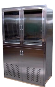 Nurse-Documentation-Station-Vented-OR-integration stainless steel Continental Metal Products
