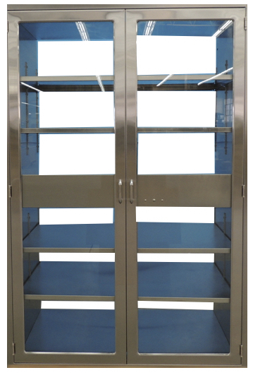 HEPA pass through Cabinet with glass doors for Hospital Pharmacy USP 800 / 797
