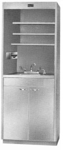 IV-32S IV Preparation and storage with sink section only, no laminar flow hood