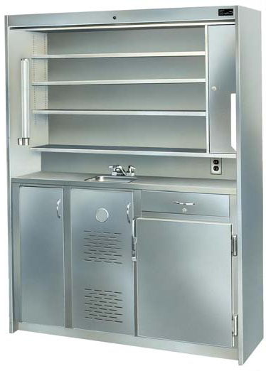 Stainless Steel Medicine Center Continental Metal Products