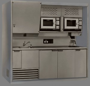Stainless Steel Hospital nourishment center or nutrition station from Continental Metal Products