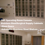 CMP Model #SC2-3072-24, Surgical Supply Cabinet Console