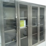 Stainless Steel OR Cabinets at INOVA Women's and Children's Hospital