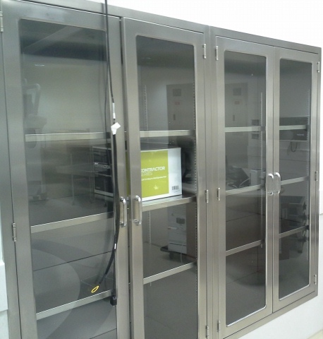 Inova Hospital Operating Room Cabinets Continental Metal