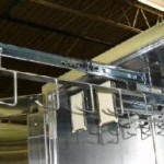 optional catherter slides for Continental Metal Products Hospital Stainless Steel Storage Cabinets