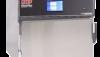Countertop medical blanket warmer with solid stainless steel door