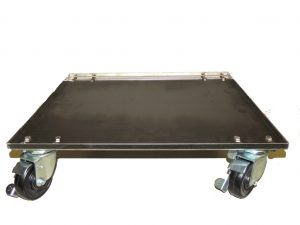 Mobile trolly for mid-size or countertop Blanket Warming Cabinet with Casters and locks