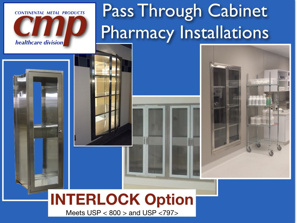 P Through Cabinet Pharmacy Installations Of Various Sizes Meeting Usp 800 And 797 Guidelines