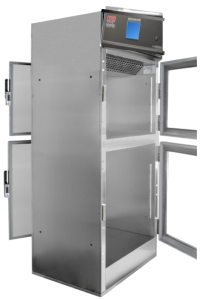 Hospital Pass Through Warming Cabinet with Touchscreen for warming blankets and solutions in the operating room