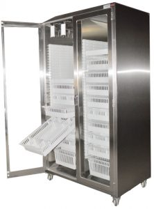 Mobile modular catheter Cabinet with flat top