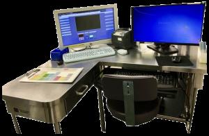 OR Nurse Documentation Station Stainless Steel Desk
