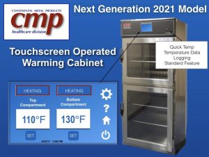 New Blanket Warmer with Touchscreen for hospital , warming cabinet easy to use controls panel 2021 Continental Metal Products